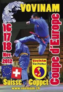 Coupe d'Europe de Vovinam Viet Vo Dao 2012