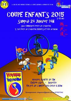 Coupe enfants Vovinam Viet Vo Dao 2015