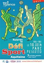 Affiche du Défi Sport