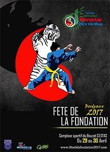 Affiche de la fête de la Fondation 2017